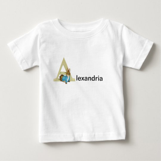 Beatrix Potter Letter A Toddler & Baby Name