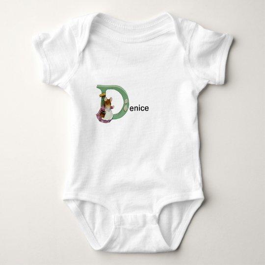 Beatrix Potter Letter D Toddler & Baby Name