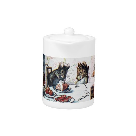 Beatrix Potter Two Bad Mice Teapot