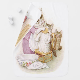 Beatrix Potter, Two Sided, Tom Kitten, Custom Pram blanket