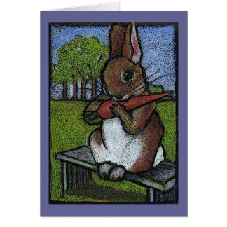 Beatrix Potter's Nice Rabbit: Color Pencil Art Card