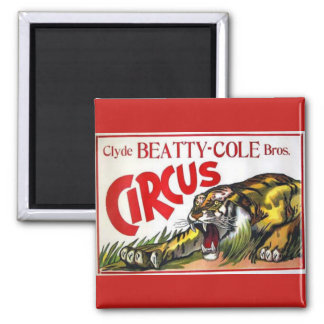 Beatty Cole Circus Magnet