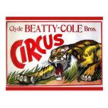 Beatty Cole Circus Post Card
