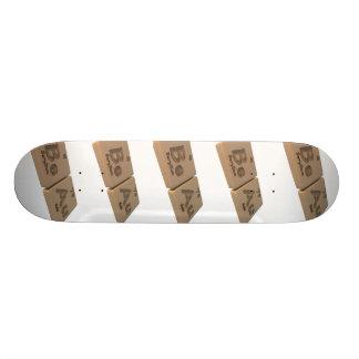 Beau as Beryllium Be and Gold Au Skate Decks