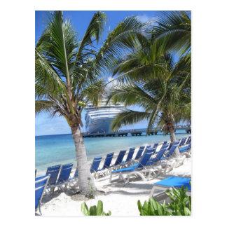 Beau Cruise Postcard