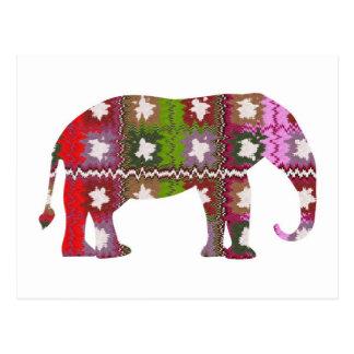 BEAU Elephant Postcard