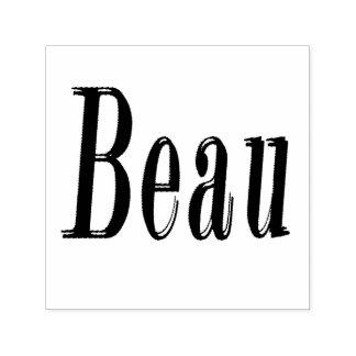 Beau Name Logo, Self-inking Stamp