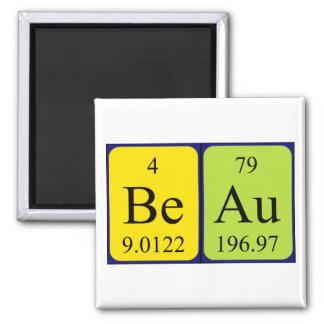 Beau periodic table name magnet