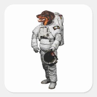 Beauceron Astronaut Sticker