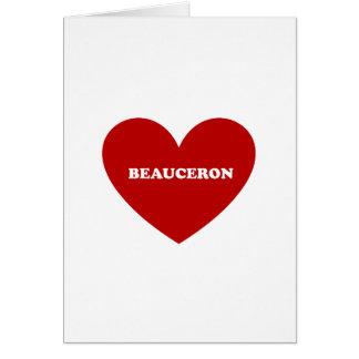 Beauceron Card
