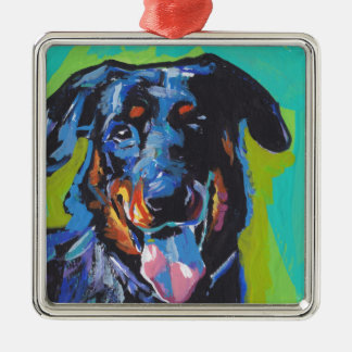 beauceron Dog Pop Art Christmas Ornament