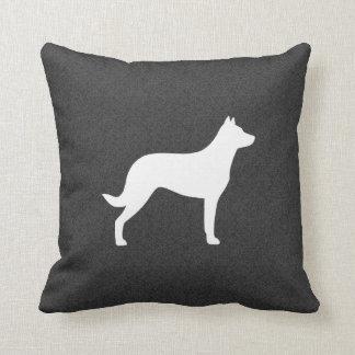 Beauceron Dog Silhouette Cushion