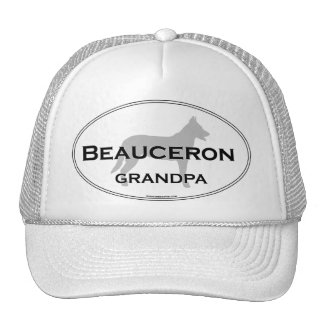 Beauceron Grandpa Trucker Hat