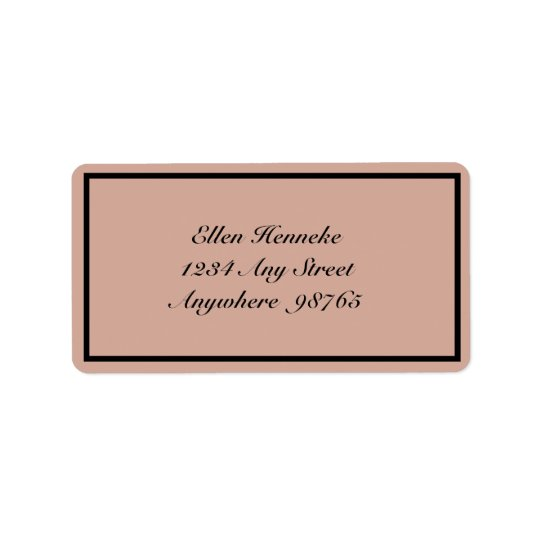 Beauclair Address Label