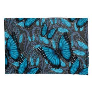 Beaucoup Blue Morpho Butterflies Pillowcase
