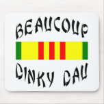 Beaucoup Dinky Dau Vietnam Mouse Pad