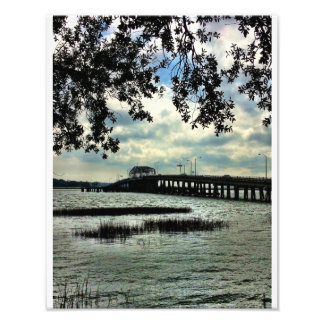 Beaufort Waterfront Photographic Print