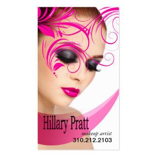 """""""Beaute Beauty"""" - Makeup Artist, Beauty Salon Business Cards"""