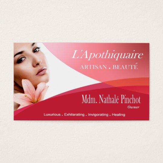 Beauté Salon Day Spa Massage Therapy Aromatherapy Business