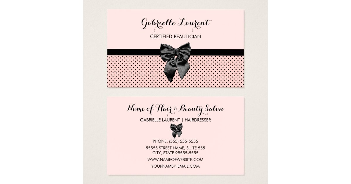 Bow Business Cards - Business Card Printing | Zazzle UK