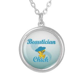 Beautician Chick 3 Custom Jewelry