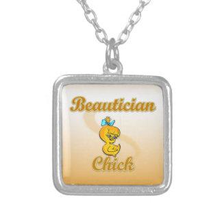 Beautician Chick Pendants