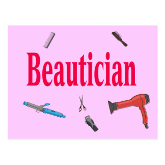Beautician Postcard