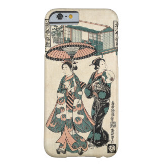 Beauties from Fukagawa (Vintage Japanese print) Barely There iPhone 6 Case