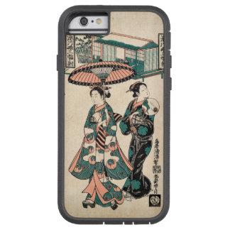 Beauties from Fukagawa (Vintage Japanese print) Tough Xtreme iPhone 6 Case