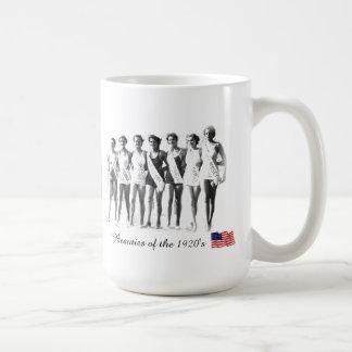 Beauties of the 1920's coffee mugs