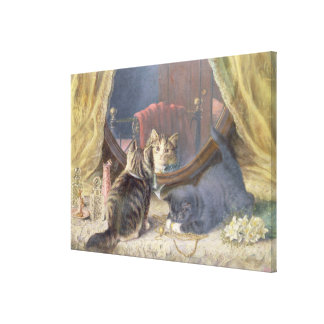Beauties Toilet Canvas Print