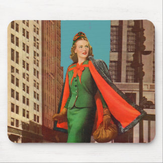 beautiful 1940s uptown girl mouse pad