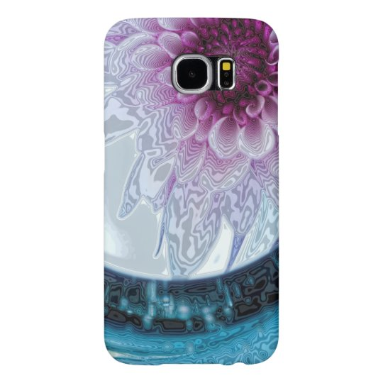 Beautiful Abstract Floral Samsung Galaxy S6 Cases