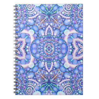 Beautiful Abstract Pattern Spiral Notebook