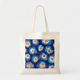 Beautiful Abstract Watercolour Budget Tote Bag