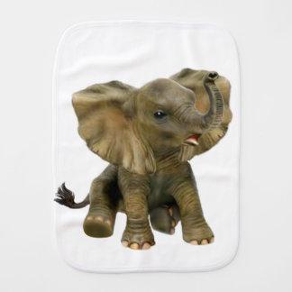 Beautiful African Baby Elephant Burp Cloth