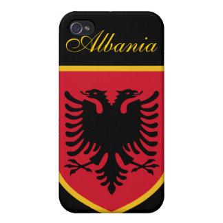 Beautiful Albania Flag iPhone 4/4S Case