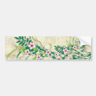 Beautiful Almond Flowers - bumper sticker