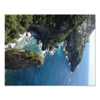 Beautiful Amalfi Coast, Praiano, Italy Photo Print