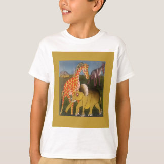 Beautiful Amazing African wild animal safari color T-Shirt
