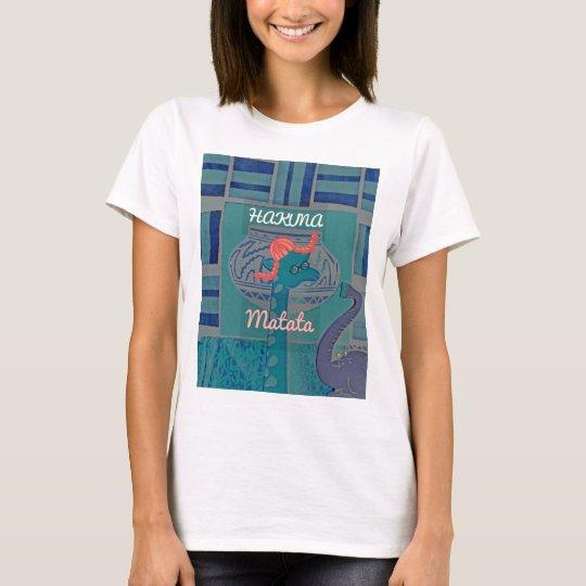 Beautiful amazing cute girly funny giraffe graphic T-Shirt