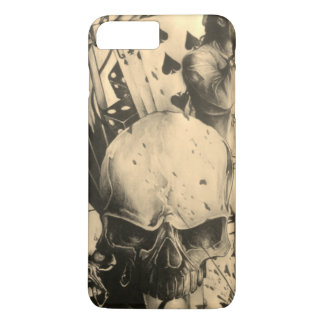 Beautiful amazing Halloween Skeezers artistic iPhone 8 Plus/7 Plus Case