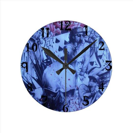 Beautiful amazing hip hop urban artistic product round clock