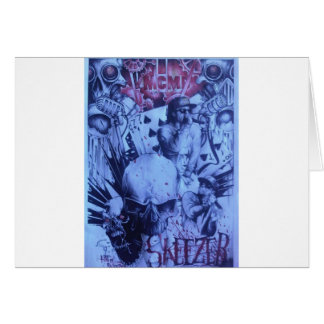 Beautiful amazing online Skeezers artistic product Greeting Card