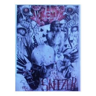 Beautiful amazing online Skeezers artistic product Postcard