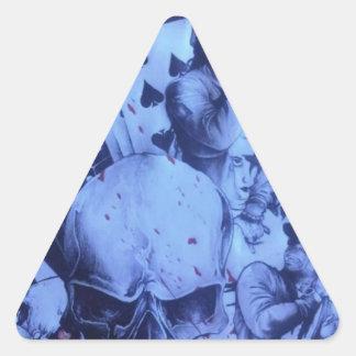 Beautiful amazing online Skeezers artistic product Triangle Sticker