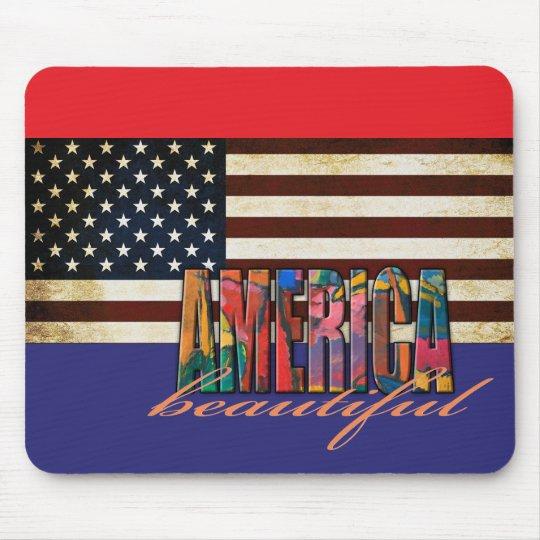 Beautiful America Mouse Mat