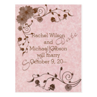Beautiful AND Economical Save the Date Postcards