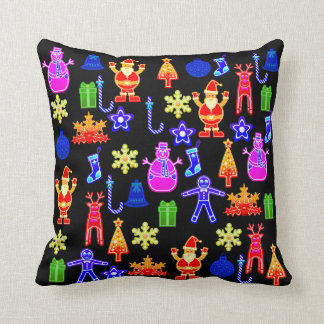 Beautiful and funny Colorful Gingerbread Pillow