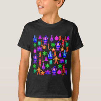 Beautiful and funny Colorful Gingerbread Shapes T-Shirt